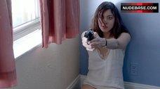 4. Aubrey Plaza in Underwear – Ned Rifle