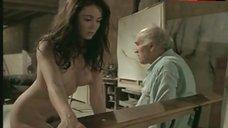 Emmanuelle Beart Nude Tits and Pussy – La Belle Noiseuse