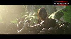 Emmanuelle Beart Topless in Tropical Forest – Vinyan
