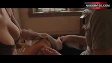 Kim Shaw Breasts in Bra – Animals