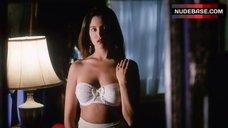 Leslie Bega Hot in Lingerie – Angel In Red