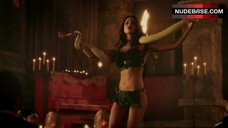 7. Eiza Gonzalez Seductive Dance with White Snake – From Dusk Till Dawn: The Series