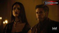 4. Eiza Gonzalez Hot in Underwear Scene – From Dusk Till Dawn: The Series