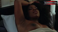Lorraine Toussaint Shows Bare  Boobs – Orange Is The New Black