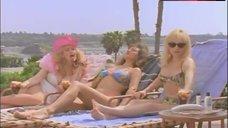 1. Michelle Bauer Bikini Scene – Heavy Petting Detective
