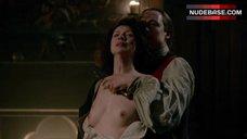 Caitriona Balfe Tits Scene – Outlander