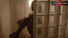 Sharon Leal Washes Her Nude Body – Addicted