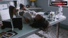Sharon Leal Hot Scene in Office – Addicted