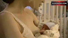 Thea Gill Breasts Feeding – Queer As Folk