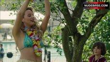 Gage Golightly Bikini Scene – Red Oaks