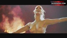 Elizabeth Berkley Topless on Stage – Showgirls