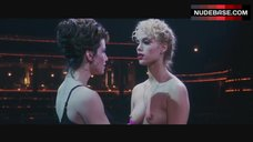 Elizabeth Berkley Breasts Scene – Showgirls