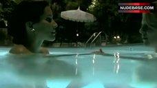 Rachel Shelley Lesbian Scene in Pool – The L Word