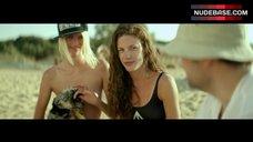 Elli Tringou on Nudist Beach – Suntan