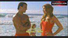 Angelica Bridges Red Swimsuit – Baywatch: Hawaiian Wedding
