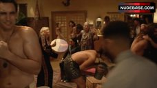 10. Jennifer Field Topless Scene – House Of Lies