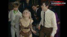 Donna Reading Dancing in Lingerie – Hot Girls For Men Only