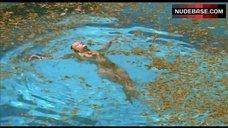 Ludivine Sagnier Swims Naked – Swimming Pool