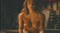 Lisa Comshaw Naked Boobs and Butt – Portrait In Red