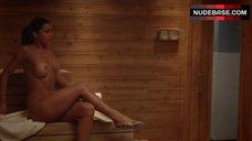 Vera Nova Nude in Sauna – Ballers