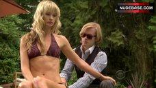 Cameron Richardson Bikini Scene – Harper'S Island