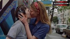 Caitlin Gerard Lesbian Kissing – When We Rise