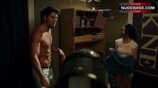 Sexy Ann Pirvu in Wet T-Shirt – Total Frat Movie
