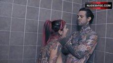 Joanna Angel Blowjob in Shower – Love Is Dead