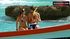 Sandra Echeverria Bikini Scene – Change Of Route