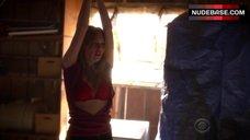1. Courtney Halverson Lingerie Scene – Criminal Minds