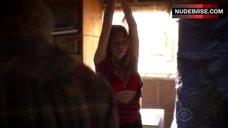 2. Courtney Halverson Lingerie Scene – Criminal Minds