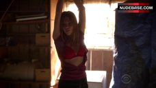 5. Courtney Halverson Lingerie Scene – Criminal Minds