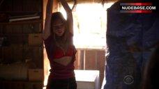 7. Courtney Halverson Lingerie Scene – Criminal Minds