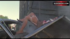 Sexy Lena Oin Climbs Out Of Car – Romeo Is Bleeding