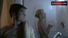 3. Tonya Cooley Boobs Scene in Shower – The Scorned