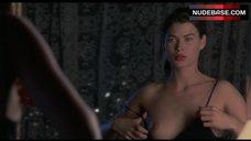 Carre Otis Bare Boob in Mirror – Wild Orchid