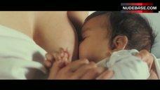 Mylene Jampanoi Breast-Feeding – Gainsbourg: A Heroic Life