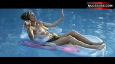 Leilani Sarelle Topless in Pool – For The Love Of Money