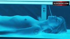 Chiara Picchi Topless in Solarium – Go Go Tales