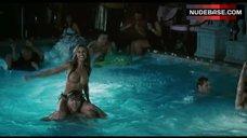6. Jennifer Walcott Topless in Pool – The Pool Boys