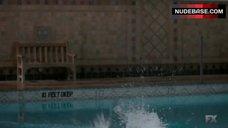 9. Keri Russell Bikini Scene – The Americans