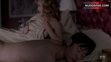 Keri Russell Hot Scene – The Americans