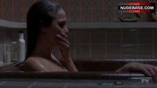 10. Keri Russell in Bathtub – The Americans