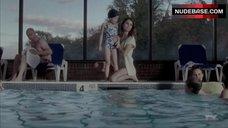 9. Keri Russell in Bathtub – The Americans
