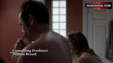 3. Keri Russell Gets in Shower – The Americans