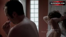 4. Keri Russell Gets in Shower – The Americans