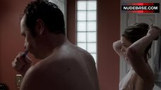 5. Keri Russell Gets in Shower – The Americans