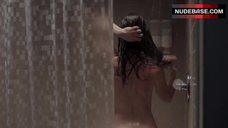 4. Keri Russell Naked Ass in Shower – The Americans