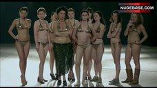 1. Shorena Begashvili Sexy in Golden Bikini – Keep Smiling