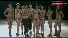 2. Shorena Begashvili Sexy in Golden Bikini – Keep Smiling